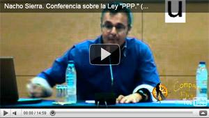 Nacho Sierra. Conferencia sobre la Ley «PPP.» (perros potencialmente peligrosos)