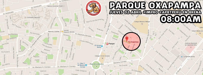 JUEVES 02 ABRIL #IMPRO #APBTPERU EN BREÑA