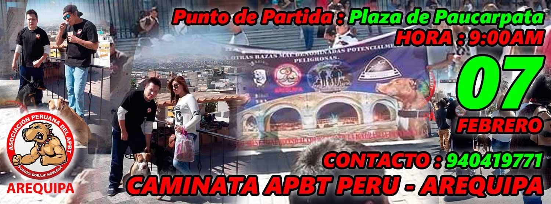 Caminata Apbt Peru – Arequipa
