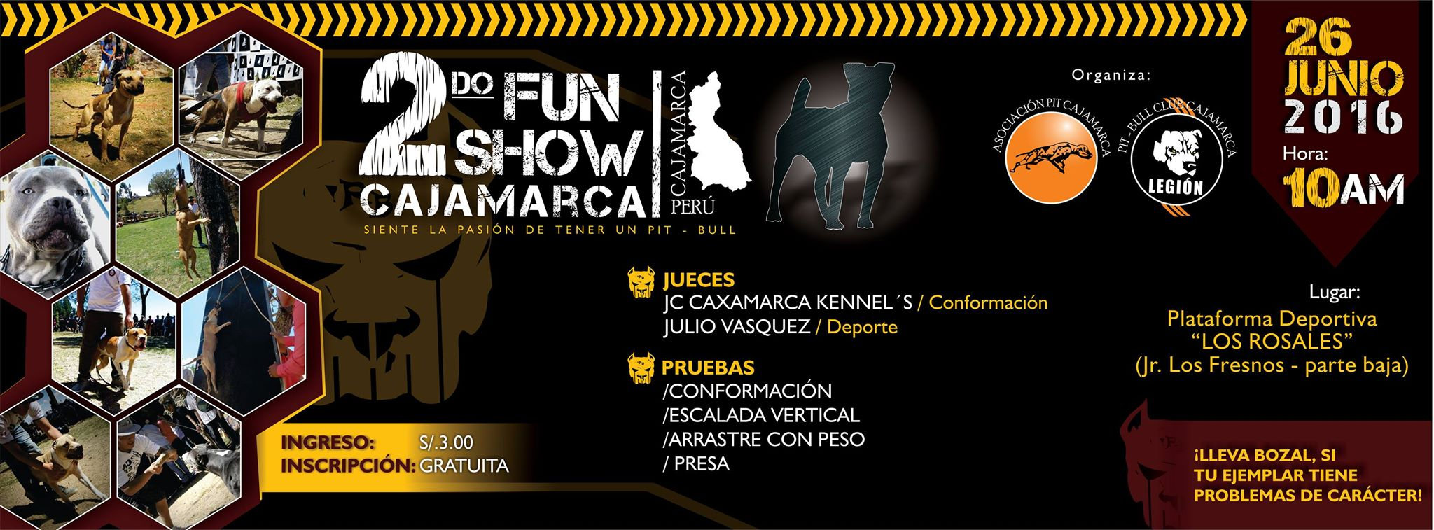 2do Fun Show Cajamarca 2016 /  26 de Junio