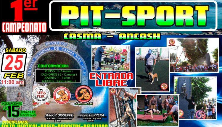 1er Campeonato Pit Sport en Casma Ancash