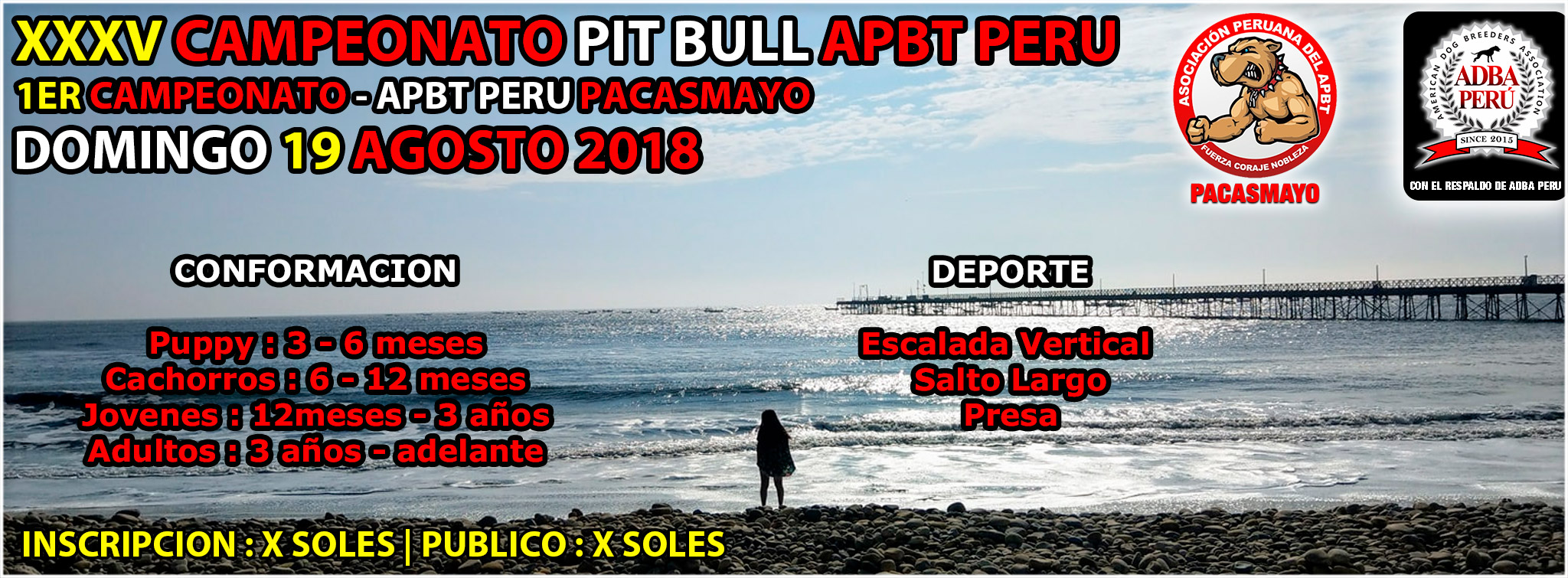 XXXV Campeonato Apbt Peru – 1er Campeonato Apbt Peru – Pacasmayo