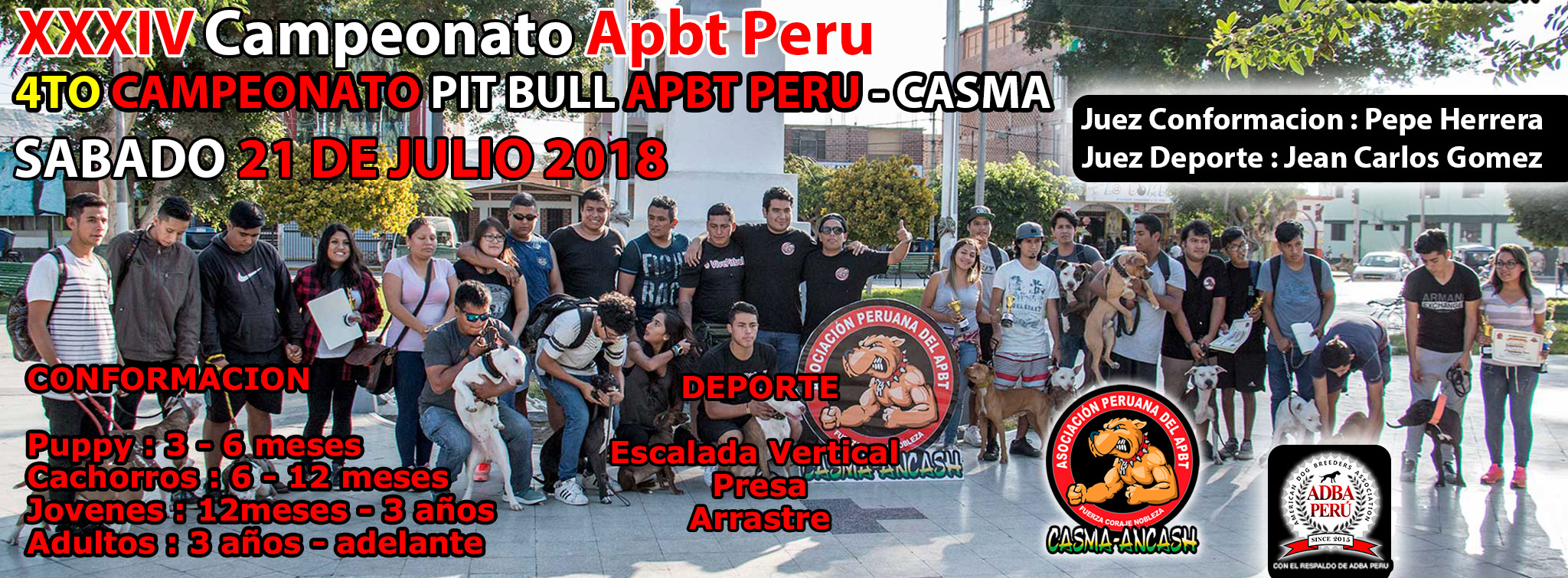XXXIV Campeonato Apbt Peru – 4to Campeonato Apbt Peru Casma
